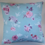 "16"" Cushion Cover in Next Kids Rose and Swallows"